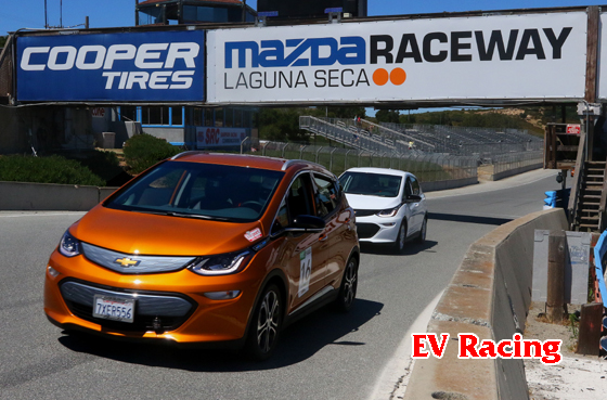 picture of EV road race