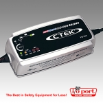US Racing 7.0 Charger for 12 and 16VDC Lead-Acid Batteries, CTEK