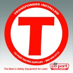 Transponder Decal, I/O Port