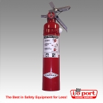 Amerex 2.5-Pound Dry Chemical Fire Extinguisher with bracket