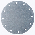4¾ Bolt Circle Blank Aluminum Plate, Fuel Safe