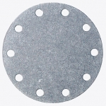"3-1/8"" Bolt Circle Blank Aluminum Plate, Fuel Safe"