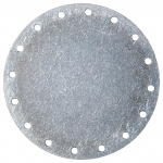 "6"" Bolt Circle Blank Aluminum Plate, Fuel Safe"