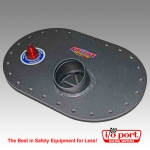 Remote Fill Plate, Mustang 64-70, Fuel Safe