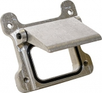 "1.5"" Billet Aluminum Trap Door with O-Ring Body, Fuel Safe"