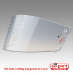 Bell 288 SRV Replacement Shield, Clear