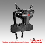 Hybrid S Head and Neck Restraint - 3-Point Belt Compatible, Simpson
