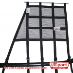 Window Net with Bottom Strap Mounting, Angled, I/O Port Racing Supplies