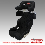 Road Race Containment Seat with Cover, Kirkey