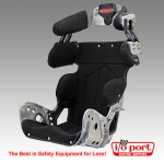 SFI 39.2 Late Model Deluxe 18° Layback Containment 78-Series Seat Kit, Kirkey