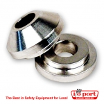 Replacement carb bushings - aluminum, Longacre