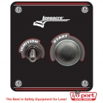 Start / Ignition panel with WP Switch Covers, Longacre