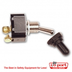Ignition Switch with weatherproof cover and 2 terminals, Longacre