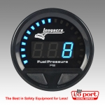 Digital Elite Waterproof Gauges, Fuel Pressure 0-15 psi, Sensor Included, Longacre