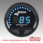 Digital Elite Waterproof Gauges, Oil Pressure 0-120 psi, Sensor Not Included, Longacre