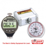 Digital Durometer & Dial Tread Depth Gauge with Silver Case, Longacre
