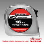 "Tape Measure 3/4"" x 10', Longacre"