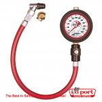 Liquid Filled Tire Gauge 0-60 by 1 lb, Longacre