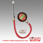 Pro Digital Tire Pressure Gauge 0-125 PSI with 'Foot' Valve, Longacre