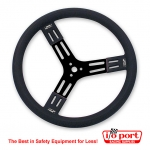 "15"" Fat Grip Aluminum Steering Wheel, Longacre"