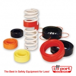 Coil Over Spring Rubber - Red 40, Longacre