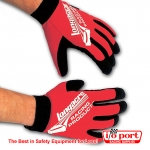Mechanic Pit Gloves - red only, Longacre