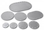 Blank Aluminum Fill Plates, Pyrotect