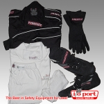 Driver Package Deal with Suit, Accessories and optional Helmet