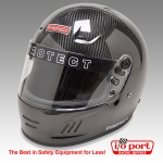 Pro Airflow Full Face Carbon Fiber Helmet, SA2010