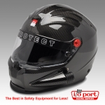 ProSport Carbon Side Forced Air Helmet, SA2020, Pyrotect