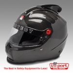 ProSport Carbon Fiber Top Forced Air Helmet, SA2015, Pyrotect