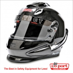 Pro Ultra Full Face Carbon Fiber TriFlow Helmet, SA2015, Pyrotect