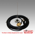 UHF 1/4-Wave Wire Car Roof Antenna with coax cable
