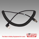 Coiled Cord for Midland Radios, Radio to Headset