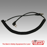 Headset Coiled Cord-Kenwood, TYT or SFE