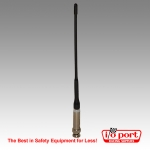 1/2-Wave Radio Antenna with BNC adapter