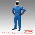Pyrotect Junior DX1 Deluxe 1-Piece, 1-Layer SFI 3.2A/1 Driving Suit
