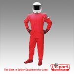 Pyrotect Junior DX1 Deluxe 2-Piece, 1-Layer SFI 3.2A/1 Driving Suit