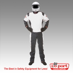 Pyrotect Pyrolite 2 1-Piece, 2-Layer SFI 3.2A/5 Driving Suit