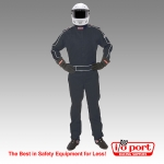 Sportsman Deluxe SFI-5 3-Layer One Piece Driving Suit, Pyrotect