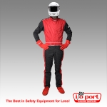 Sportsman Deluxe 1-Piece, 1-Layer SFI 3.2A/1 Driving Suit, Pyrotect