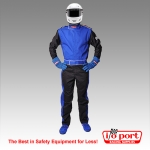 Sportsman Deluxe 1-Piece, 2-Layer SFI 3.2A/5 Driving Suit, Pyrotect