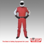 Ultra-2 1-Piece, 2-Layer SFI 3.2A/5 Driving Suit, Pyrotect