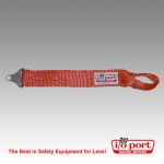 "Heavy Duty Tow Strap with Loop, 18"" Long, I/O Port"